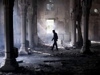 Mezquita en ruinas