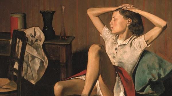 Thérèse soñando (Thérèse rêvant), 1938