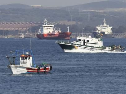 Pesquero en Algeciras