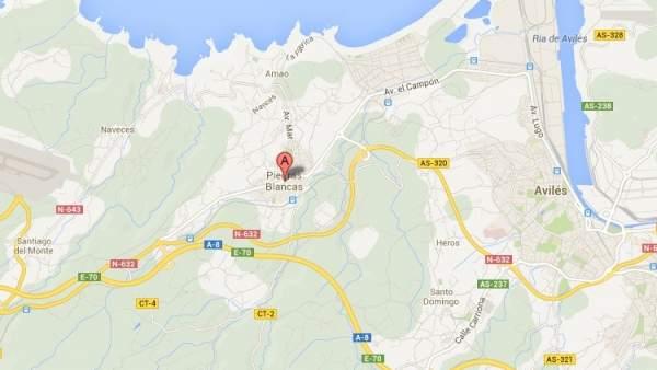 Piedras Blancas, Asturias