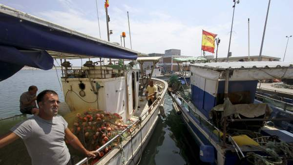 Pescadores afectados por el conflicto en Gibraltar