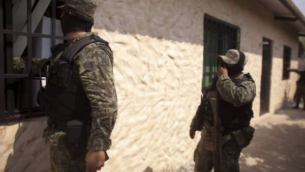 Operativo en México contra los cárteles de la droga