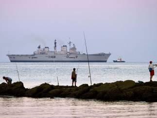 Buque HMS Illustrious