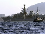 La fragata británica HMS Westminster