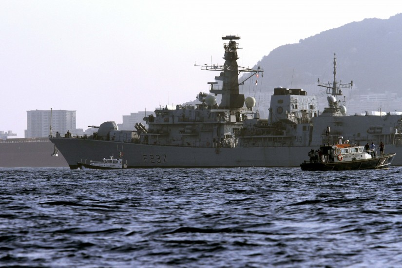 Tensión en Gibraltar