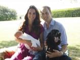 Primeras fotos oficiales del príncipe Jorge