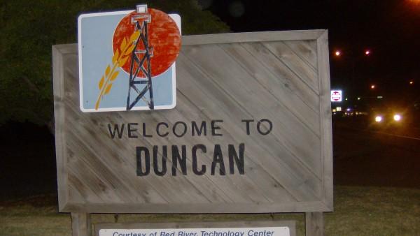 Duncan. Oklahoma