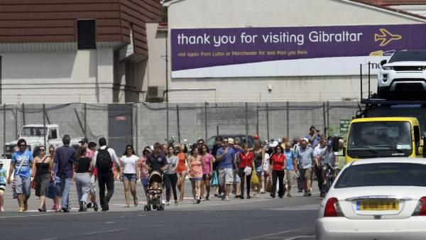 No cesa la tensión en Gibraltar