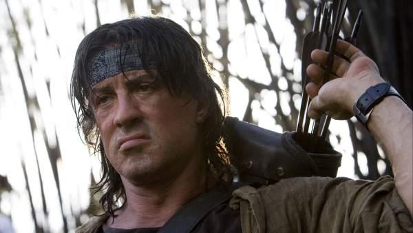 Sylvester Stallone como Rambo