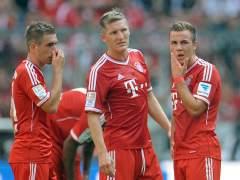 Lahm, Schweinsteiger y Götze
