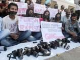 Fotoperiodistas hindúes