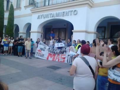 Protesta antitaurina en Sanse