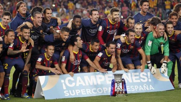 El Barça, campeón de la Supercopa