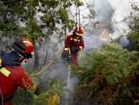 Incendio en Boiro