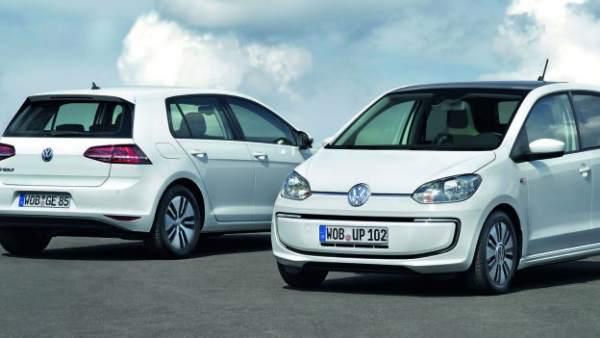 Los eléctricos e-up! y e-Golf de Volkswagen