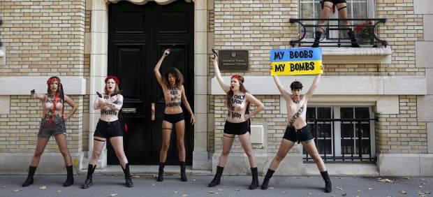 Las activistas de Femen dejan Ucrania por sentirse perseguidas