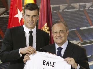 Florentino Pérez y Gareth Bale