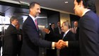 El príncipe Felipe ya está en Argentina