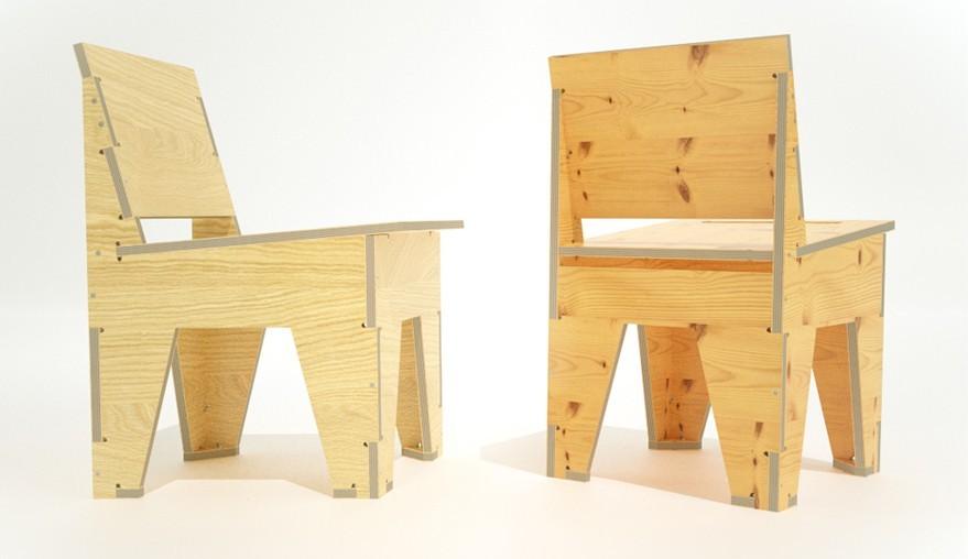 Una web ofrece gratis planos para fabricar muebles de diseño ...