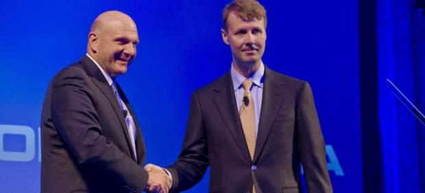 El gigante Microsoft compra el fabricante de móviles Nokia