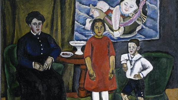 'Family Portrait with Chinese Print', 1911