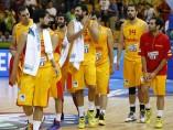 España gana a Croacia