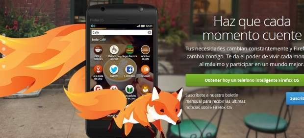 Firefox OS llega a los móviles para hacer frente a Android e iOS