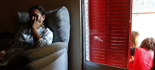 Rocío pide ayuda para alimentar a sus hijos