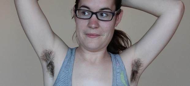 La bloguera Paloma Goñi, tras un año sin depilarse