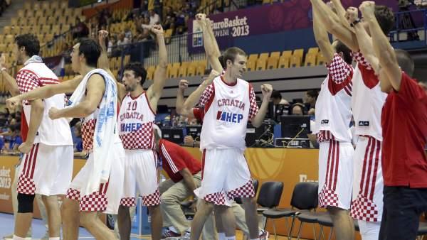 Croacia de baloncesto