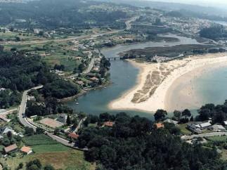 Playa Grande de Miño (Galicia)