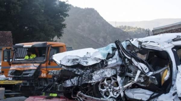 Accidente de tráfico