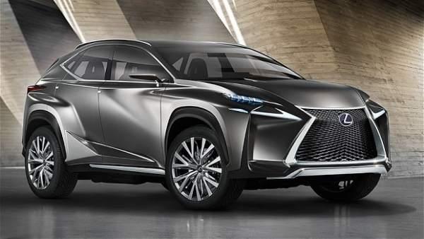 Lexus 'concept' LF-NX