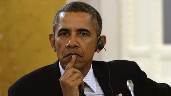 Obama durante el G20