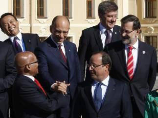 Mariano Rajoy en el G20