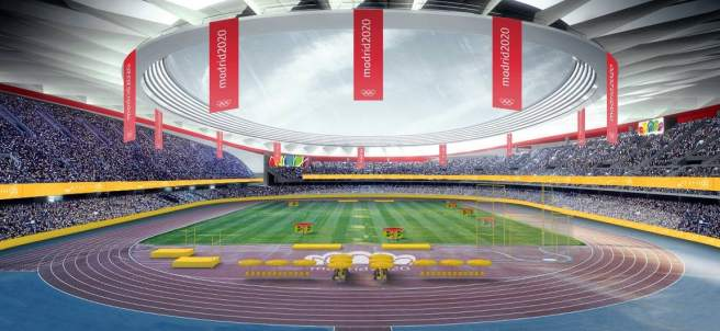 Estadio Olímpico de Madrid