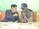 Dennis Rodman y Kim Jong-un