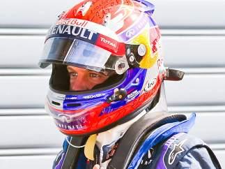 Pole de Vettel en el feudo de Ferrari