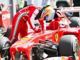 Fernando Alonso en Monza