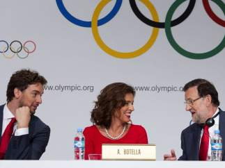 Gasol, Botella y Rajoy