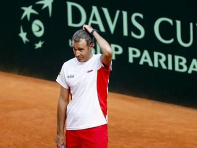 Álex Corretja, capitán español de la Copa Davis