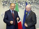 Letta y Van Rompuy