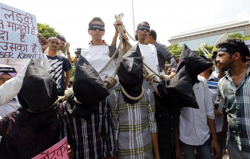 Declarados culpables los cuatro acusados de una violación mortal en la India
