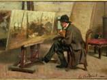 Óleo sobre tabla de Giovanni Boldini
