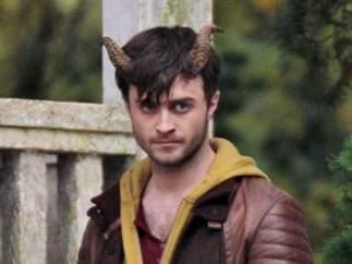 Daniel Radcliffe en la película Horns