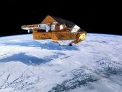 Imagen desde el espacio de la región ártica