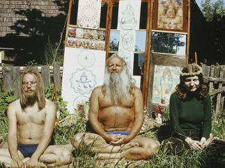 'Aare and Julia visiting Rama in early 1970s'