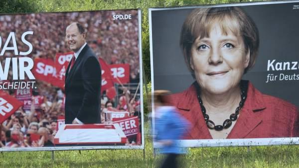 Campaña electoral en Alemania