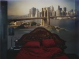Camera Obscura: View of the Brooklyn Bridge in Bedroom, 2009
