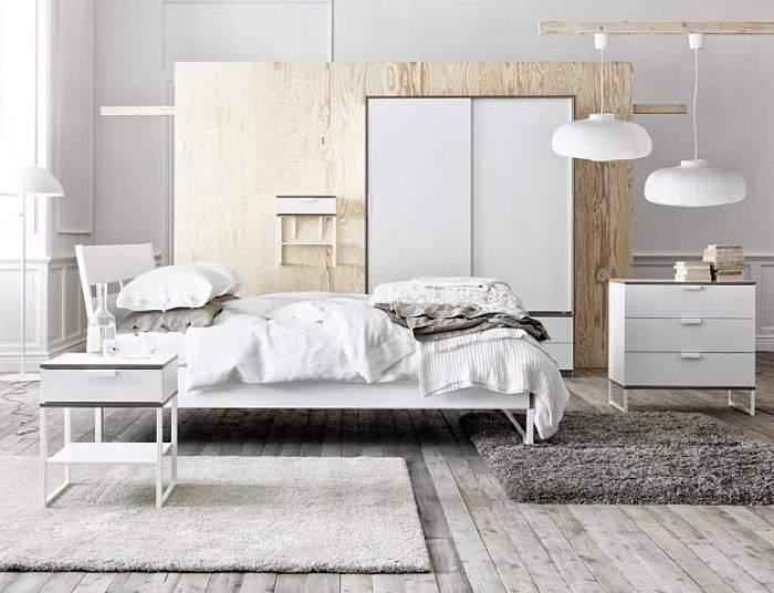 el uso del blanco combina con todos los colores y aun con todos los estilos ikea